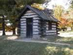 Valley Forge Soldier cabin